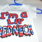 IM A LITTLE REDNECK 2T T-SHIRT