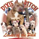 dixie bitch t-shirt large