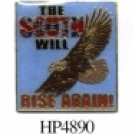 THE SOUTH WILL RISE AGAIN HAT PIN
