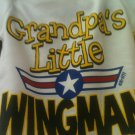 GRANDPAW LIL WING MAN ONESIE SIZE SMALL