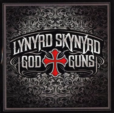 lynrd skynrd god t-shirt large