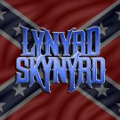 lynrd skynrd rebel t-shirt med