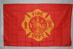 3'X5' FIRE DEPARTMENT FLAG