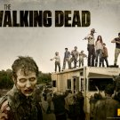 the walking dead 2 t-shirt med