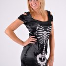 Ladies Skeleton Dress Large