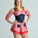 Country Girl Fancy Dress Costume Medium