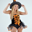 Black Witch Fancy Dress Costume