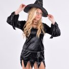 Spooky Black Witch Fancy Dress Costume