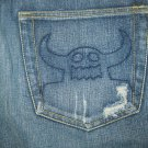 Toy Machine Ruffian Low RIse Jeans 36/32