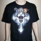 Warrior Wear T-Shirt - Cross with Logo - XL