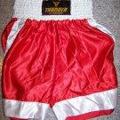 THUNDER - Boxing / MMA Shorts - RED - Small
