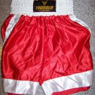 THUNDER - Boxing / MMA Shorts - RED - Med