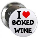 "i heart love boxed wine 1.25"" pinback button pin / badge (g6)"