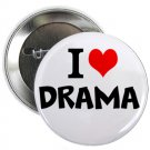 "i heart love drama 1.25"" pinback button pin / badge (g6)"