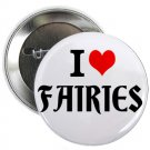 "i heart love fairies 1.25"" pinback button pin / badge (g6)"