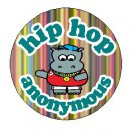 "hip hop anonymous 1.25"" pinback button pin / badge (g7)"