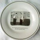 NEW YORKER Cartoon PLATE . P.C. VEY . PEETS COFFEE