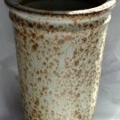 HANDCRAFTED Studio VASE . Earthtones . Signed BERGTOLD