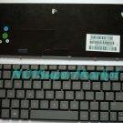 Dark Gray HP Mini 100e keyboard 615967-031 UK Layout