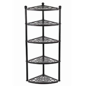 Le Creuset cast iron 5 Tier Pot Stand SATIN BLACK BRAND NEW IN BOX
