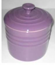 Le Creuset Stoneware Storage Jar, Purple, 0.8 Litre