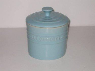 Le Creuset Satin Blue Storage Jar 0.8L