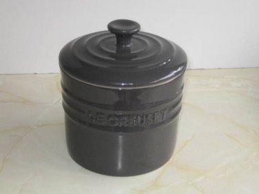 Le Creuset Slate Grey Storage Jar 0.8L