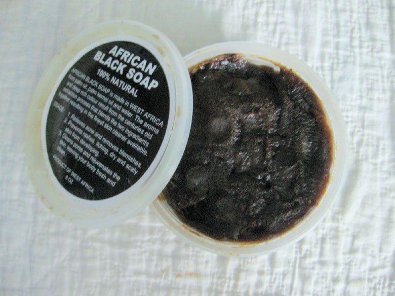 West African Natural Black Soap Paste