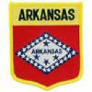 Arkansas State Flag Shield Patch