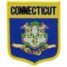 Connecticut State Flag Shield Patch