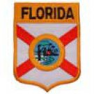 Florida State Flag Shield Patch