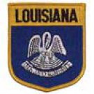 Louisiana State Flag Shield Patch