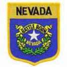 Nevada State Flag Shield Patch