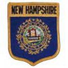 New Hampshire State Flag Shield Patch
