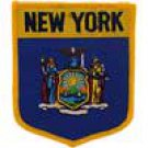 New York State Flag Shield Patch