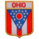 Ohio State Flag Shield Patch