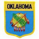 Oklahoma State Flag Shield Patch