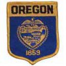 Oregon State Flag Shield Patch