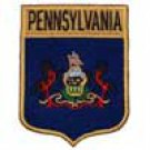 Pennsylvania State Flag Shield Patch