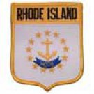 Rhode Island State Flag Shield Patch