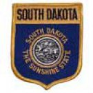 South Dakota State Flag Shield Patch