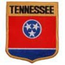 Tennessee State Flag Shield Patch