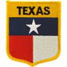 Texas State Flag Shield Patch