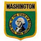 Washington State Flag Shield Patch