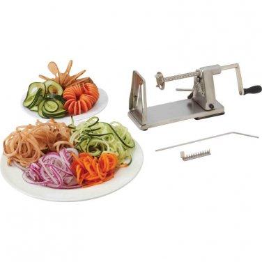 Stainless Steel Vegetable Spiral Slicer
