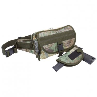 Invisible Camo Tactical Concealed Carry Waist Bag