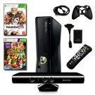 XBOX 360 Slim 4GB Kinect 2 Games Bundle with Madden 12, Remote, HDMI Cable 0004
