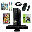 MICROSOFT XBOX 360 Slim 4GB Kinect with Games Extra Controller, and More 0019