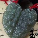 And Tian Qingyu device.Heart-shaped (Fengpei), necklace (couple models) (pair price)