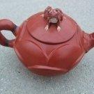 Retro (Yixing) Teapot Dahongpao Lotus the frog paragraph Teapot